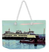 Mukilteo Clinton Ferry Panel 3 Of 3 Weekender Tote Bag