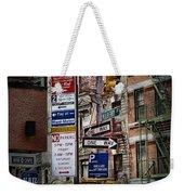 Mulberry Street New York City Weekender Tote Bag