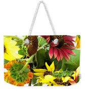 Multi-color Sunflowers Weekender Tote Bag