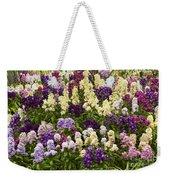 Multi-colored Blooms Weekender Tote Bag