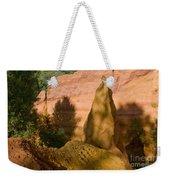 Multi-colored Clay Weekender Tote Bag