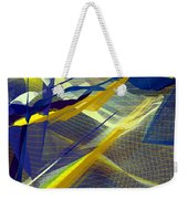 Multicolor Mesh Weekender Tote Bag