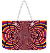 Multicolored Abstract Weekender Tote Bag
