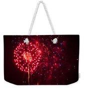 Multicolored Fireworks Weekender Tote Bag