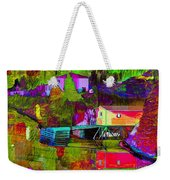 Multicolored Reflections Weekender Tote Bag