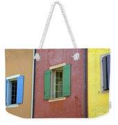 Multicolored Walls, France Weekender Tote Bag