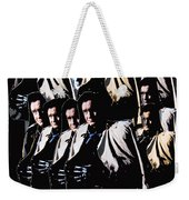 Multiple Johnny Cash's In Trench Coat 1 Collage Old Tucson Arizona 1971-2008 Weekender Tote Bag