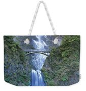 Multnomah Falls Columbia River Gorge Weekender Tote Bag