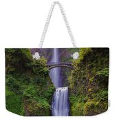 Multnomah Falls - Columbia River Gorge - Oregon Weekender Tote Bag