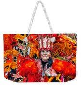 Mummer Red Weekender Tote Bag