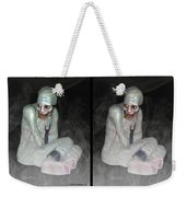 Mummy Dearest - Cross Your Eyes And Focus On The Middle Image That Appears Weekender Tote Bag