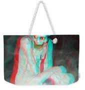 Mummy Dearest - Use Red-cyan Filtered 3d Glasses Weekender Tote Bag