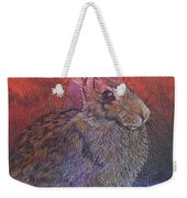 Munching On Clover Weekender Tote Bag by Sari Sauls