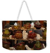 Munich Market With Pickles And Olives Weekender Tote Bag