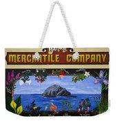 Mural Bandon Mercantile Company Weekender Tote Bag