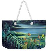 Mural Bird Of Summers To Come Weekender Tote Bag