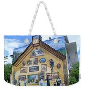 Mural In Beaupre Quebec Weekender Tote Bag