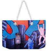 Mural, Nyc, New York City, New York Weekender Tote Bag