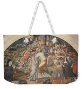 Mural Painting Abbey Fontevraud Weekender Tote Bag