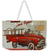Murray Fire Truck Weekender Tote Bag