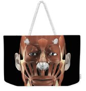 Muscles Of The Face Weekender Tote Bag