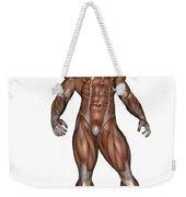 Muscular Man Standing Weekender Tote Bag