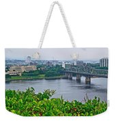 Museum Of Civilization Across The Ottawa River In Gatineau-qc Weekender Tote Bag