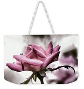 Museum Park Pink Rose Weekender Tote Bag