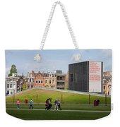 Museumplein Lawn In Amsterdam Weekender Tote Bag