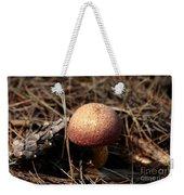 Mushroom And Pine Cone Neighbors Weekender Tote Bag