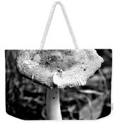 Mushroom In Black And White Weekender Tote Bag