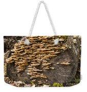 Mushroom Log Weekender Tote Bag