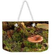 Mushroom N Moss Weekender Tote Bag