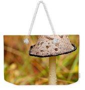 Shaggy Mane Mushroom Weekender Tote Bag