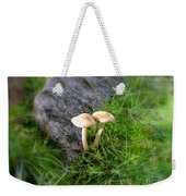 Mushrooms In Grass Weekender Tote Bag