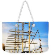 Mushulu At Penns Landing Weekender Tote Bag