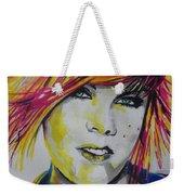 Music Artist..pink Weekender Tote Bag