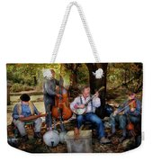 Music Band - The Bands Back Together Again  Weekender Tote Bag