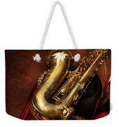 Music - Brass - Saxophone  Weekender Tote Bag by Mike Savad