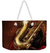 Music - Brass - Saxophone  Weekender Tote Bag