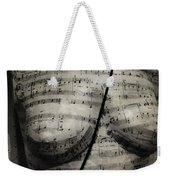 Music Chest  Weekender Tote Bag