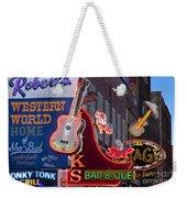 Music Clubs Nashville Weekender Tote Bag