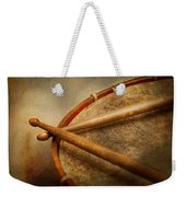Music - Drum - Cadence  Weekender Tote Bag by Mike Savad
