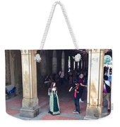 Music Echoes Under The Arches Weekender Tote Bag