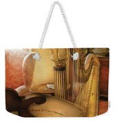 Music - Harp - The Harp Weekender Tote Bag