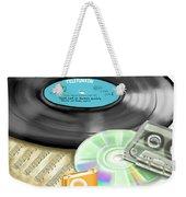 Music History Weekender Tote Bag