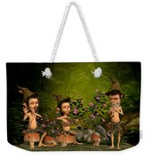 Music In The Forest Weekender Tote Bag