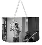Music In The French Quarter Weekender Tote Bag