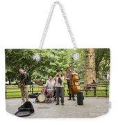 Music In The Park Weekender Tote Bag