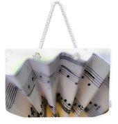 Music Notes Weekender Tote Bag